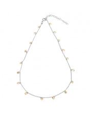 Srebrny naszyjnik z cyrkoniami - pr.925