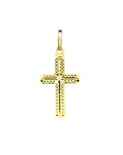 Złota zawieszka krzyżyk - pr. 585