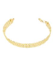 Złota bransoletka - pr.585