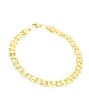 Złota bransoletka  - pr. - 585