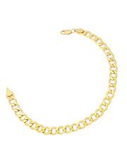Złota bransoleta męska pancerka - pr.585