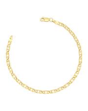 Złota bransoletka Pawie oko - pr.585