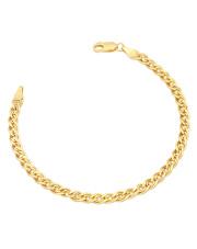 Złota bransoletka Monaliza - pr.585