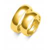 Złote obrączki klasyczne półokrągłe- pr.585