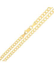 Złoty łańcuszek Pancerka 50 cm - pr.585