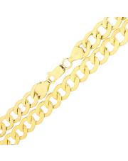 Złoty łańcuszek Pancerka 55 cm - pr.585