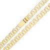 Złoty łańcuszek Bismark 55 cm - pr.585
