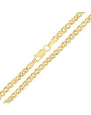 Złoty łańcuszek Monaliza 50 cm - pr.585