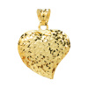 Złota zawieszka serce diamentowana pr. 585