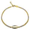 Złota bransoletka z łezką - pr.585