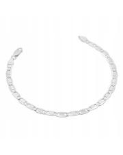 Srebrna bransoleta długość 21cm - pr.925