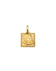 Złota zawieszka medalik z Matką Boską- pr. 333