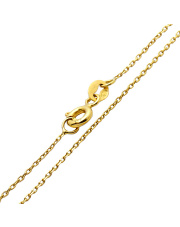 Złoty łańcuszek ankier 50 cm - pr. 585