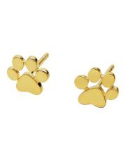 Złote kolczyki łapka - pr.585