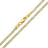 Złoty łańcuszek figaro 45 cm - pr. 585
