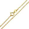 Złoty łańcuszek singapur 50 cm - pr. 585