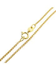 Złoty łańcuszek 45 cm - pr. 585
