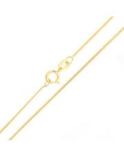 Złoty łańcuszek pancerka 50 cm - pr. 585