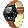 Smartwatch Garett Men 3S RT brązowy,skórzany