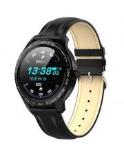 Smartwatch Garett Men 3S RT czarny,skórzany