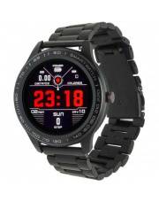 Smartwatch Garett Men 3S RT czarny,stalowy