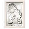 Obrazek srebrny Komunia Święta Chłopiec