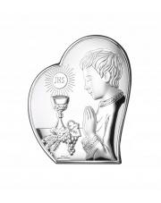 Obrazek Modlącego się chłopczyka w sercu