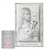 Obrazek srebrny Jezus Pamiątka I Komunii Świętej