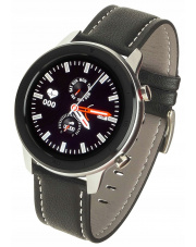Smartwatch Garett Master RT czarny,skórzany