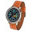 Smartwatch Garett Master RT pomarańczowy,skórzany