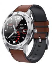 Smartwatch Garett GT22S RT jasny brąz,skórzany