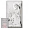 Obrazek Pierwsza Komunia Św. Dziewczynka z Jezusem
