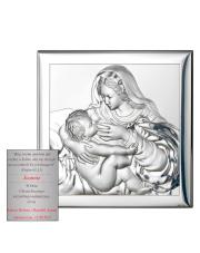 Obraz przedstawiający Matke Boską karmiącą