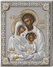 Ikona Święta Rodzina złocona