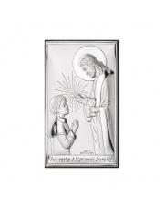Obrazek Komunia Chłopiec z Jezusem