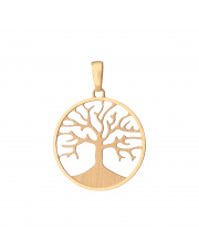 Złota zawieszka drzewko szczęścia- pr. 585
