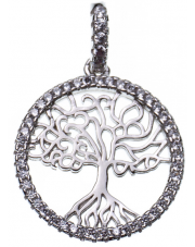 Srebrna zawieszka drzewko szczęścia - pr. 925