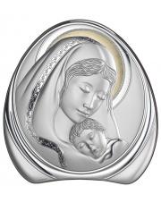 Obraz Madonny z Dzieciątkiem Złocony