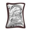 Obraz Madonny z Dzieciątkiem na Drewnie Złocone