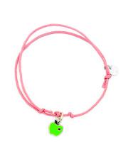 Srebrna bransoletka z jabłuszkiem - pr. 925
