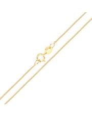 Złoty łańcuszek Lisi ogon 50 cm - pr - 585