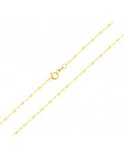 Złoty łańcuszek splot Fantazyjny 45 cm - pr. 333