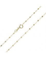 Złoty łańcuszek splot Fantazyjny 50 cm - pr. 333