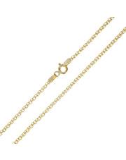 Złoty łańcuszek splot Traktor 50 cm - pr. 333