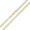 Złoty łańcuszek Pancerka 60 cm - pr. 333