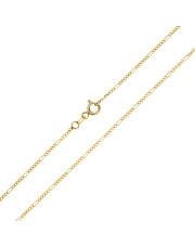 Złoty łańcuszek Figaro 40 cm - pr. 585