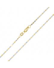 Złoty łańcuszek Valentino 45 cm - pr. 585