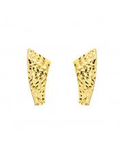 Złote kolczyki diamentowane pr. 585