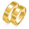Złote obrączki ślubne, soczewka - pr.585