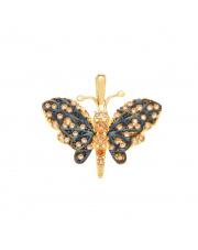 Złota zawieszka motyl pr. 585